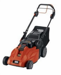 Black and Decker cordless electric self propelled lawnmower